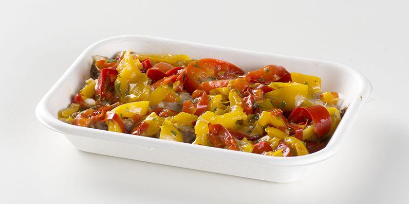 Ristorante Self Service PesceAzzurro - sgombro con salsa di peperoni