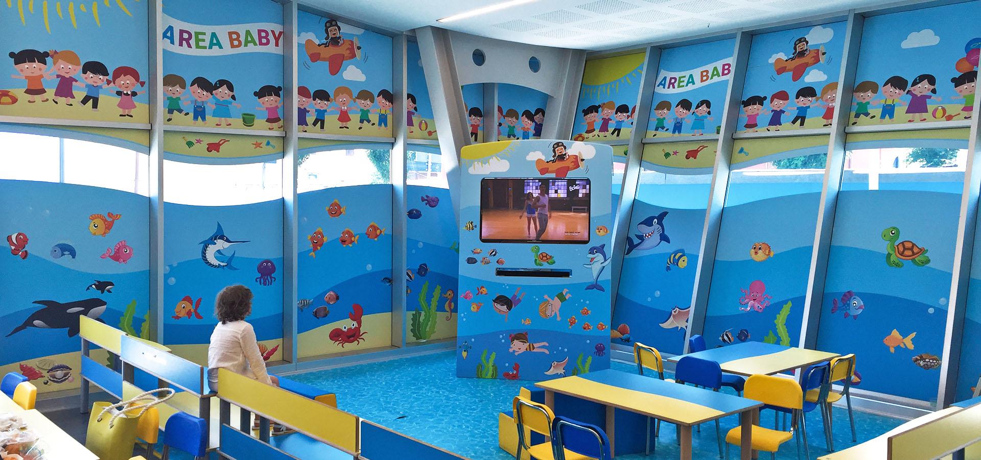 Ristorante PesceAzzurro - Area Baby, lo spazio dedicato ai bambini 02