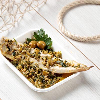 sgombro in salsa di olive