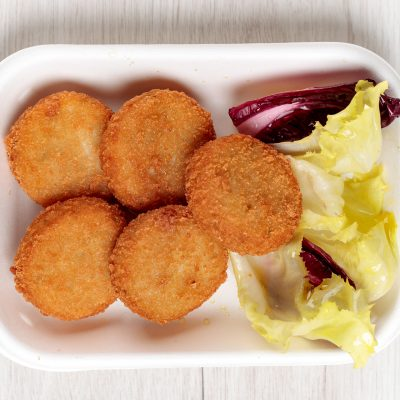 polpettine di pesce e patate