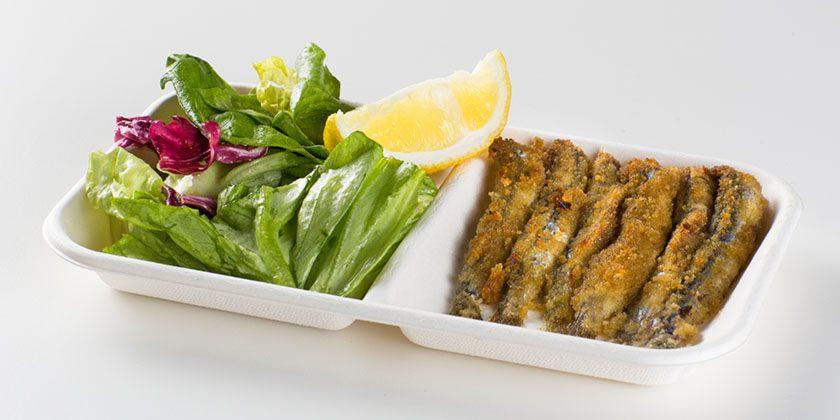 Ristorante Self Service PesceAzzurro - grigliata azzurra con insalata