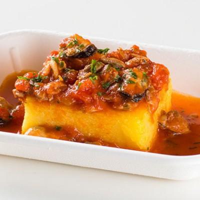 Ristorante Self Service PesceAzzurro - polenta gratinata alla marinara
