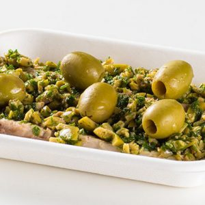 Ristorante Self Service PesceAzzurro - sgombro in salsa di olive