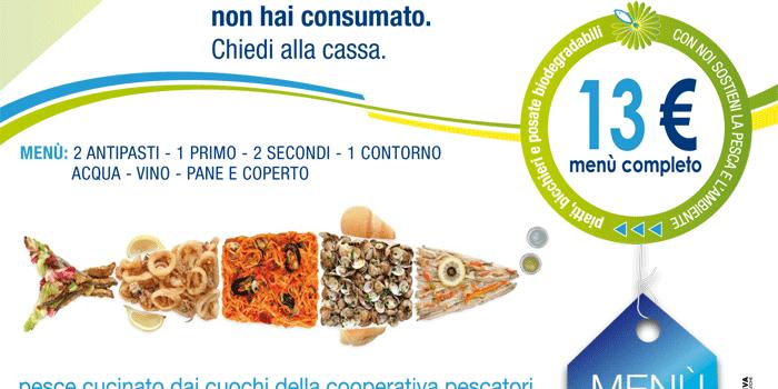 Ristorante PesceAzzurro - il tuo menù d'asporto